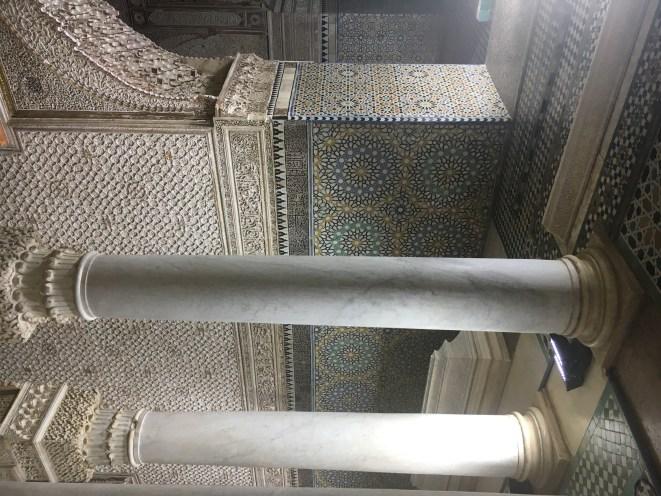 Tumbas Saadianas em Marrakech