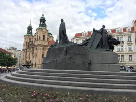 Monumento à Jan Hus