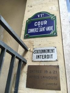 Cour du Commerce Saint-André