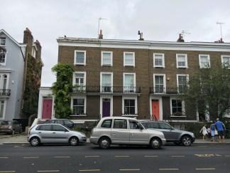 Casas lindas de Notting Hill