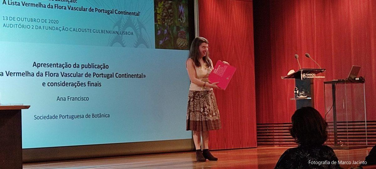 Apresentação de Ana Francisco, Coordenadora Executiva do projeto (SPBotânica)