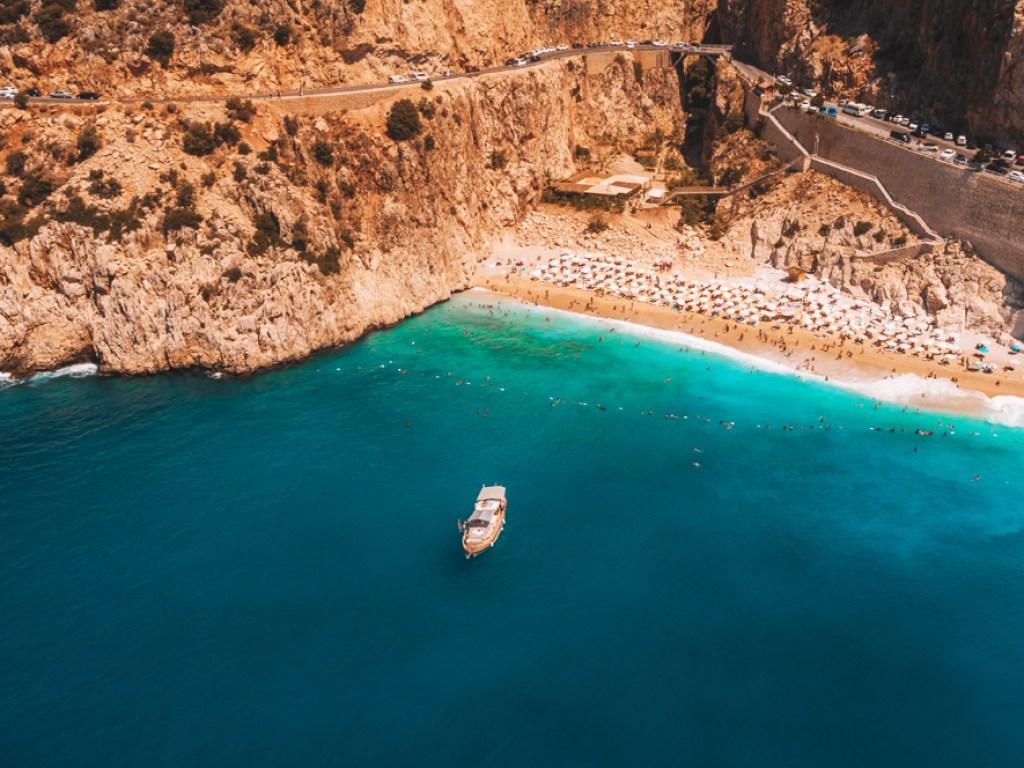 Türkiye'nin En Güzel Plajları - Kaputaş-Kaş