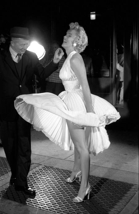 Marilyn Monroe- jurklijst met kleding