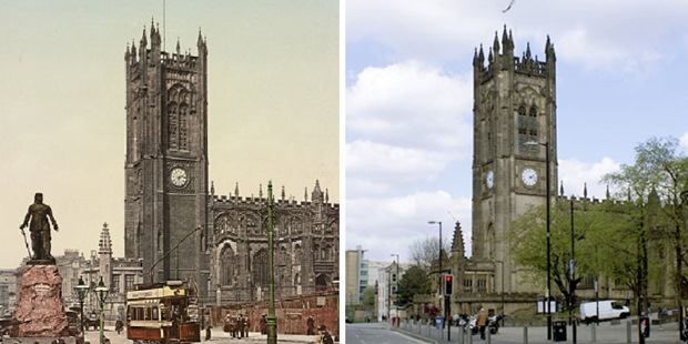 Zamanda Yolculuk: 7 İngiltere Şehrinin 125 Yıl İçinde Uğradığı Değişim