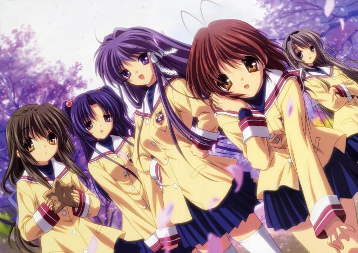 En iyi anime diziler Clannad