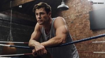 Yakışıklı ve Seksi Aktör Chris Hemsworth' ün Thor Egzersizleri