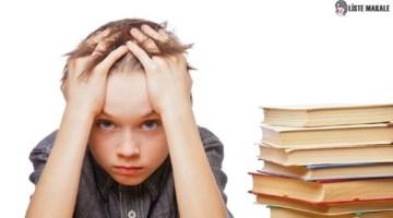 Çocukların Okuldaki Başarısızlığının Nedenleri