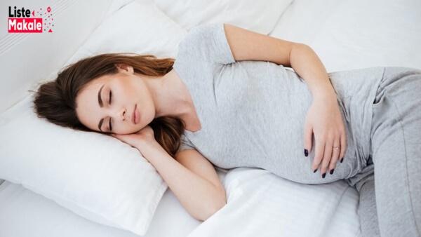 Hamilelikte Yatış Pozisyonu Nasıl Olmalı?