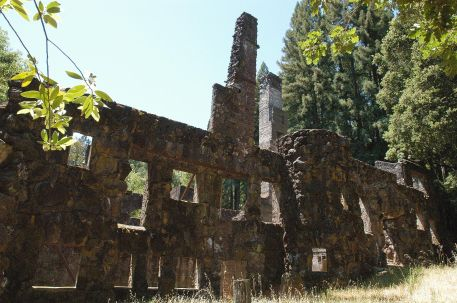 Ruins of Wolf House, Jack London State Historic Park