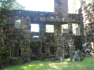 Ruins of Wolf House still standing in Jack London State Park, Sonoma, California (From the Jack London Historic Park website)
