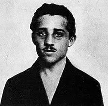 Gavrilo Princip, shot the Archduke Franz Ferdinand and his wife Sophie. He died in prison