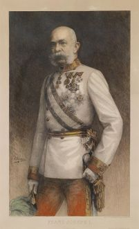 Emperor Franz Joseph ruler of the Austro-Hungarian Empire
