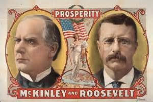 McKinley-Roosevelt Campaign Poster