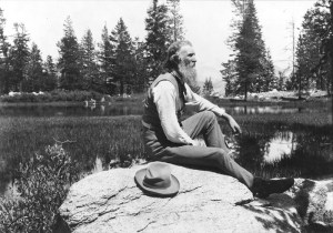 John Muir in his beloved Yosemite National Park