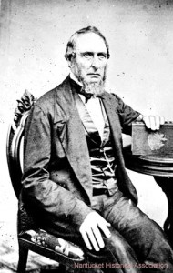 Owen Chase, first mate of the doomed whaleship Essex in later life.