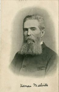 Last picture known of Herman Melville, taken in 1885