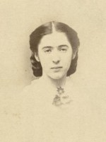 Fanny Seward tended her ailing father. She died of tuberculosis a year and a half later