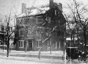 The William Seward home in Washington D.C.