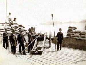 Guarding Rio from the Navy in 1894