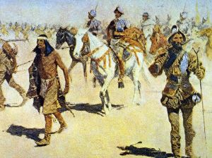 Spanish explorer by American Artist Frederick Remington 1898