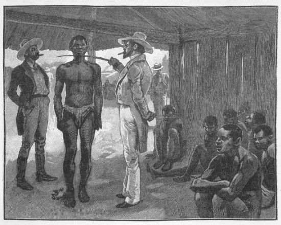 Buying a slave in Havana Cuba 1837