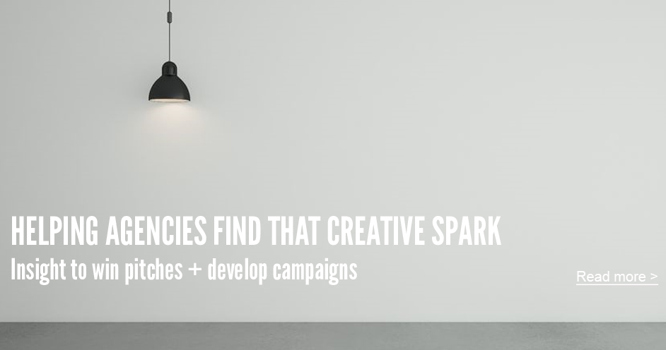 helping agencies find that creative spark