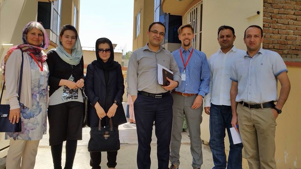 Meeting with CPI – the biggest program in Afghanistan to strengthen the civil society.
