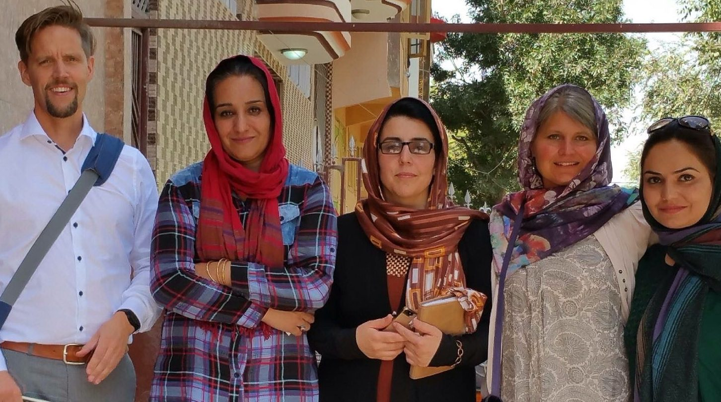 Meeting with Female Activists in Voice of Afghan