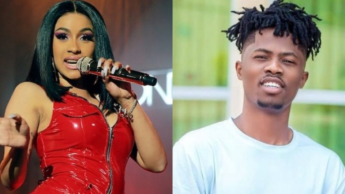 ListenGH It's official! Cardi B is a big fan of Kwesi Arthur and the American rapper proved it in the catchiest way.