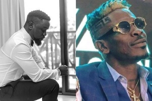 ListenGH I'm ready to get things together with Shatta Wale on one condition -Sarkodie says