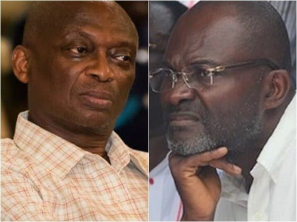 ListenGH Ken Agyapong pays judgement debt in Kweku Baako's GH¢25m suit