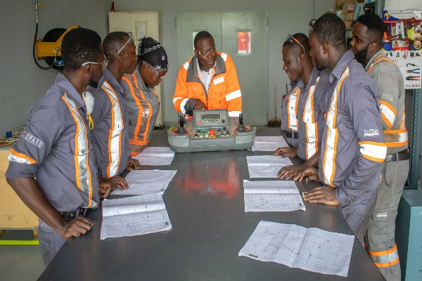 ListenGH Sandvik Mining offers Ghanaian graduate engineers rare practical skills training