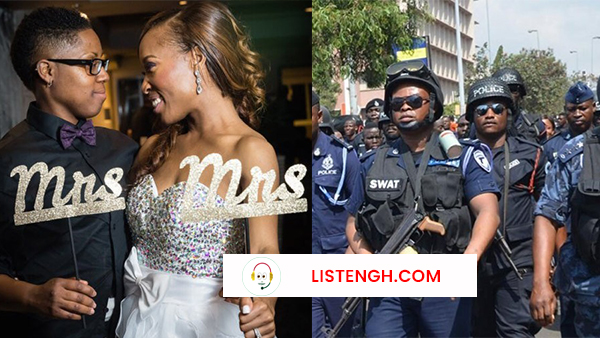 ListenGH Police Stop Lesbian Wedding Ceremony In Kwahu, 22 others were arrested