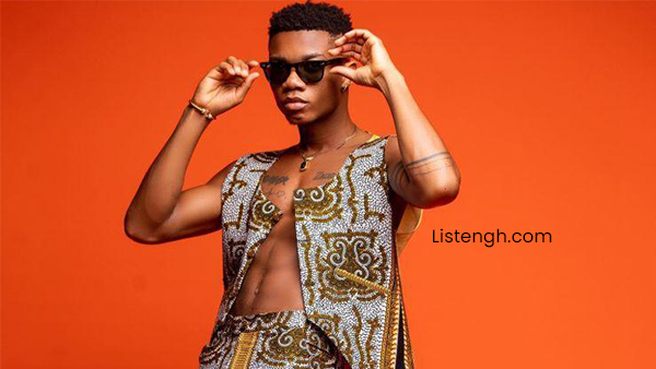 ListenGH KiDi Wins Artiste of the Year at 3 music awards, 2021 virtual edition.