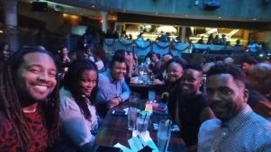 At the India Arie Christmas Concert with my Table Mates