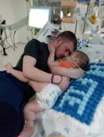Tom and Alfie Evans.