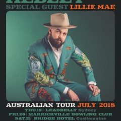 Joshua Hedley and Lillie Mae Australian Tour 2018