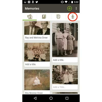 Review: Using FamilySearch Apps to record Oral Histories