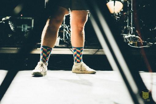 Dan Deacon's Socks