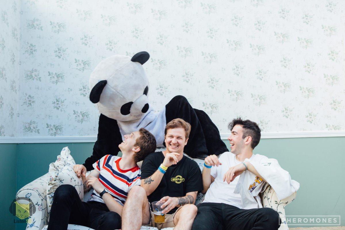 The Frights & ListenSD Panda