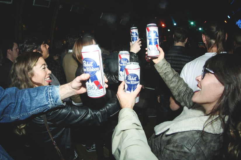 Big Bloom Partying with Pabst