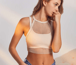 UO Out From Under Gwen Fishnet Tank: $18