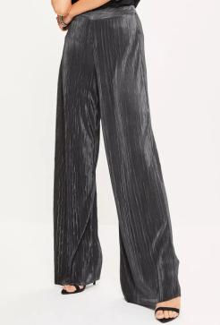 Missguided Wide Leg Pants: $36