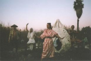Teleporter at Desert Daze