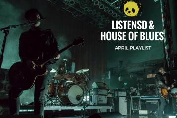 House of Blues April Playlist
