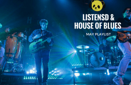 LISTENSD X HOUSE OF BLUES MAY PLAYLIST COVER