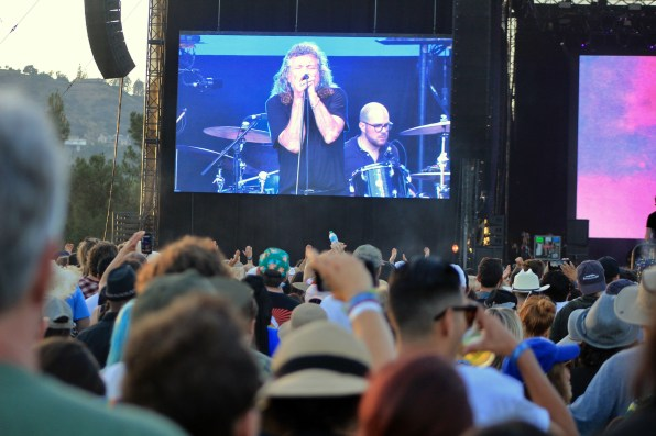 Robert Plant at Arroyo Seco Weekender