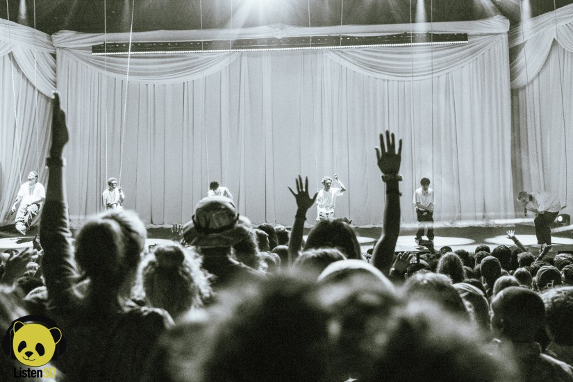 Brockhampton at Agenda Festival 2018