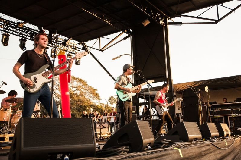 The Frights at Tropicalia Fest by GoldenVoice