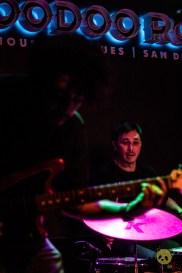 Los Shadows at House of Blues Voodoo Room by Nicholas Regalado